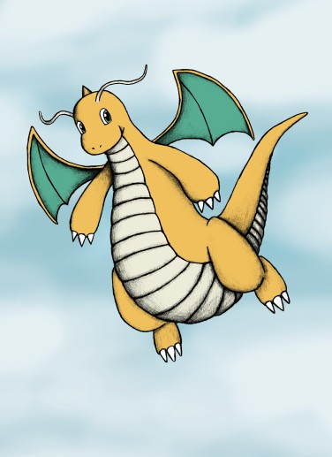 Dragonite for prints